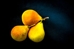 Pera amarilla Foto de archivo libre de regalías