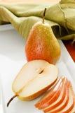 Pera cortada de Forelle Fotos de Stock
