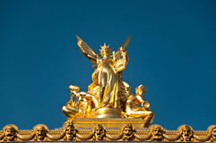 Ópera de Garnier de París Foto de archivo libre de regalías