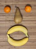 Pera dei mandarini delle banane Fotografie Stock