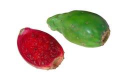 Pera del cactus immagine stock
