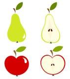 Pera e maçã