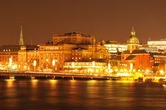 Ópera en Estocolmo Imágenes de archivo libres de regalías
