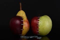 Pera OGM de Apple Fotos de archivo libres de regalías