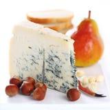 Pera, queijo azul e nozes Imagens de Stock Royalty Free