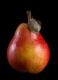Pera roja Imagen de archivo libre de regalías