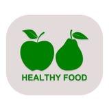 Pera sana de la comida - ejemplo Fotografía de archivo