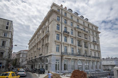 Pera slotthotell Istanbul Royaltyfri Bild
