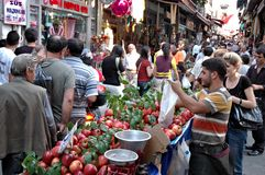 Pera (Taksim), Costantinopoli Fotografia Stock