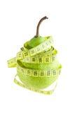 Pera verde Imagen de archivo libre de regalías
