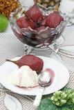 Pera in vino di Caldas Fotografia Stock