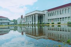 Peradeniya Engineering Faculty stock photos
