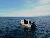 Perahu di Laut Fotografia Stock Libera da Diritti