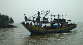 Perahu nelayan stock photo