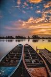 Perahu pasangan στοκ εικόνες