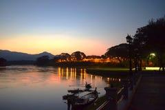 Perak flod royaltyfri fotografi