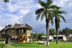 Perak kungligt museum, Kuala Kangsar Arkivbild