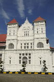Perak State Museum. The Perak Museum is a public museum located in Taiping, Perak, Malaysia. It is the first and the oldest museum in Malaysia.  It was founded Royalty Free Stock Image