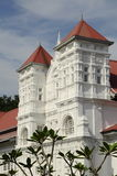 Perak State Museum. The Perak Museum is a public museum located in Taiping, Perak, Malaysia. It is the first and the oldest museum in Malaysia.  It was founded Royalty Free Stock Images