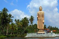 Peraliya Buddha Statue in Hikkaduwa Royalty Free Stock Photography