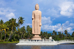 Peraliya Buddha Statue, Tsunami Memorial, Sri Lanka Royalty Free Stock Images