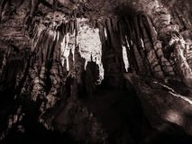 Perama-Höhle, Epirus, Griechenland lizenzfreie stockfotografie