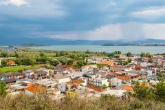 Perama town. Epirus, Greece Royalty Free Stock Images