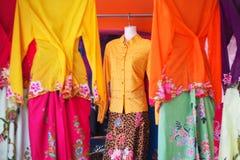 Peranakan fashion in shop at Phuket old town. Baba-Nyonya Stock Photo