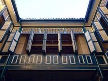 Peranakan hus royaltyfria bilder