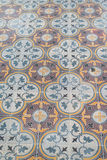 Peranakan Tile Flooring Royalty Free Stock Photo