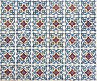 Peranakan tile mosaic royalty free stock photos