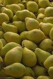 Peras amarillas Foto de archivo