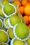 Peras frescas Foto de archivo
