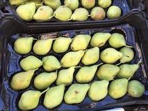 Peras frescas Foto de archivo libre de regalías