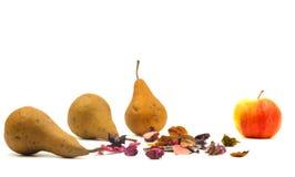 Peras, frutos Fotos de Stock Royalty Free