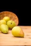 Peras maduras orgânicas naturais Fotos de Stock