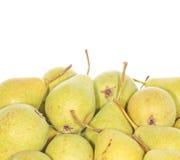 Peras orgânicas Imagem de Stock Royalty Free