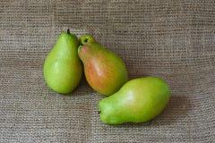 Peras orgânicas frescas Imagens de Stock Royalty Free
