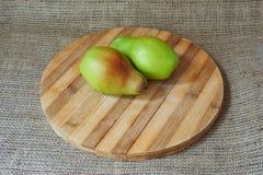 Peras orgânicas frescas Imagem de Stock