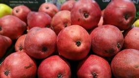 Peras vermelhas Fotografia de Stock