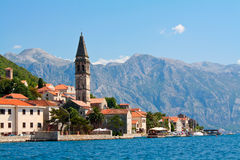 Perast, Μαυροβούνιο Στοκ Εικόνα