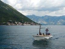 Perast, πόλη στο Μαυροβούνιο στην αδριατική θάλασσα στοκ φωτογραφία με δικαίωμα ελεύθερης χρήσης