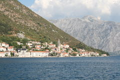 perast Foto de Stock Royalty Free