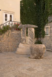 Perast. Antic stones Royalty Free Stock Images
