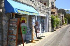 Perast, baie de Kotor, Monténégro Images libres de droits