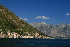 Perast. Bay of Kotor, Montenegro Royalty Free Stock Images