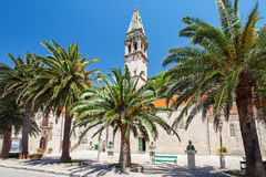 Perast Church Royalty Free Stock Photos