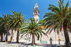 Perast Church. Saint Nikola Church in Perast, Kotor harbor, Montenegro Royalty Free Stock Photos