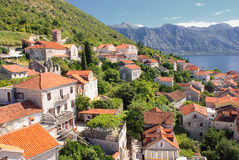 Perast city 2 Stock Photo