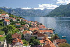 Perast city 3 Royalty Free Stock Photos